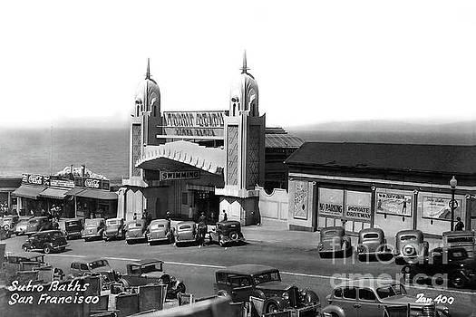 California Views Archives Mr Pat Hathaway Archives - Tropic Beach Sutro Bath San Francisco, Calif. Circa 1938