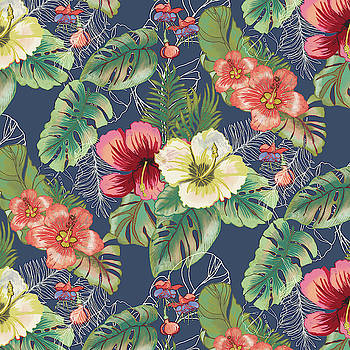 Tropical Florals by Blenda Studio
