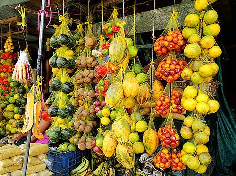 Tropical Fruit Display by Blair Wainman
