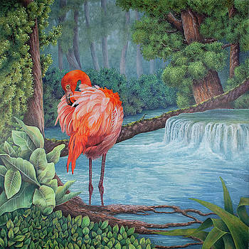 Tropical Tranquility by Teresa Frazier