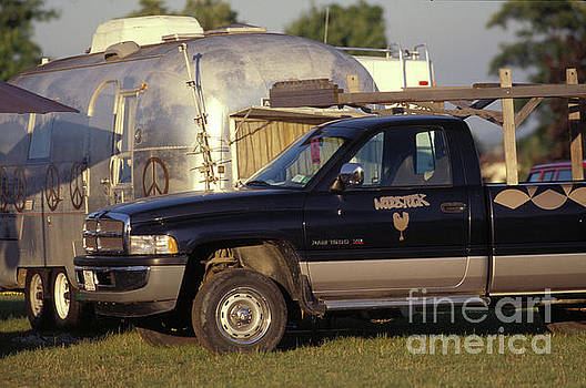 Truck and Trailer at Woodstock 94 by Concert Photos