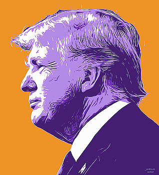 Trump PopArt by Greg Joens