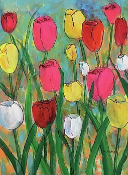 Tulip Garden by Marita McVeigh
