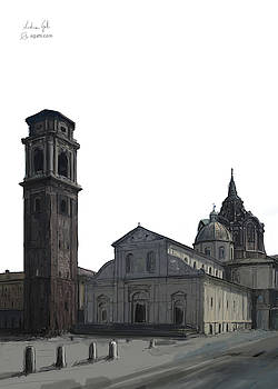 Turin Cathedral digital1 by Andrea Gatti