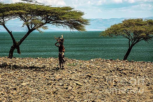 Turkana Portrait by Morris Keyonzo