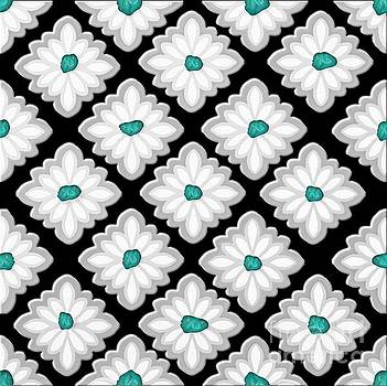 Turquoise Conchos by Priscilla Wolfe