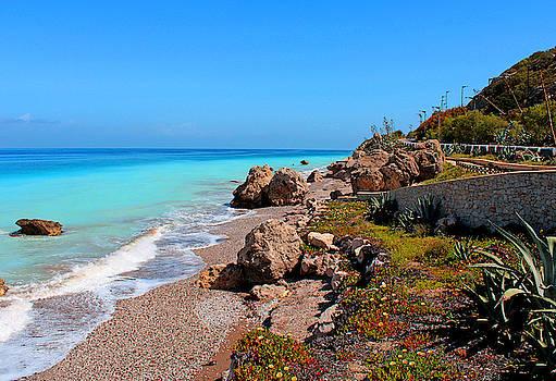 Julia Fine Art And Photography - Turquoise Sea and Azure Sky