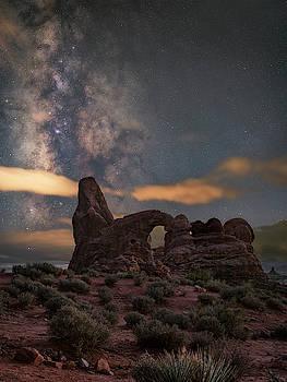 Turret Arch  by Marybeth Kiczenski
