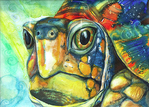 Turtle Totem by Patricia Allingham Carlson