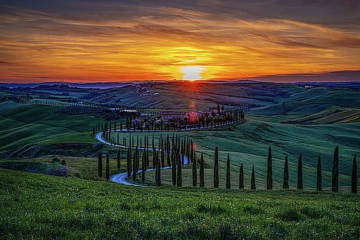Chris Lord - Tuscan Sunset