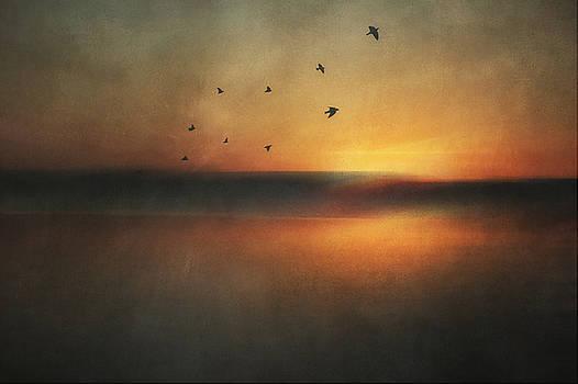 Twilight fell by Angela King-Jones