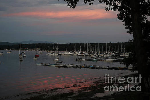 Felipe Adan Lerma - Twilight Mt Mansfield Malletts Bay Vermont