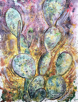 Twilight Prickly Pears by Andrew Marshall
