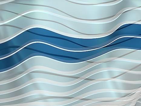 Two blue waves even by Alberto RuiZ
