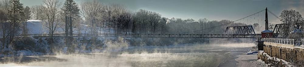 Two Cent Bridge at -5F by John Meader