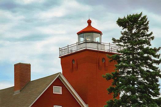 Two Harbors Lighthouse by Bonnie Follett