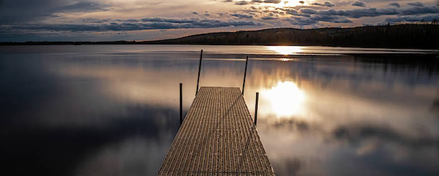 Two Islands Lake M N by Steve Gadomski