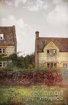 Two Stone Houses by Jill Battaglia