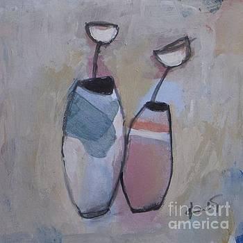 Two Vases by Vesna Antic