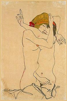 Egon Schiele - Two Women Embracing 2