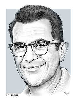 Ty Burrell by Greg Joens