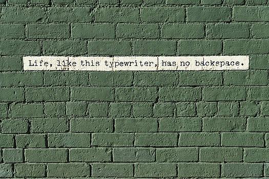 Typewriter by Greg Croasdill