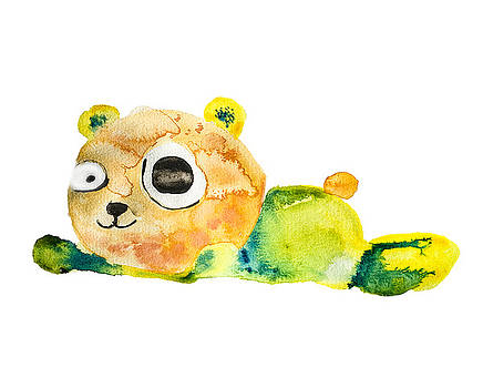 Unconscious Teddy Bear by Creatives Think