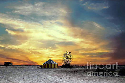 Under the Big Top by Sherry Little Fawn Schuessler