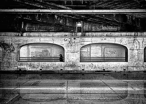 Under The Overpass Reflection by Brian Carson