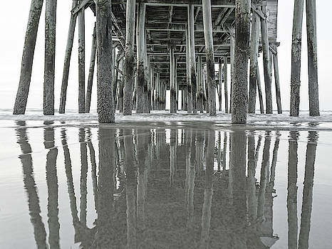 Under the Pier Sunrise Classic by Betsy Knapp