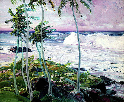 Under The Trade Winds, Barbados by Frederick Judd Waugh