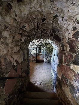 Under the walls of Suomenlinna by Jouko Lehto