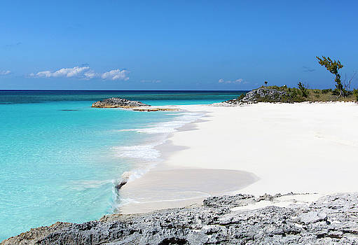 Uninhabited Island Beach by Ramunas Bruzas