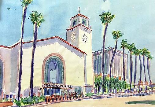 Union Station, LA by Virginia Vovchuk