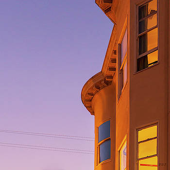 Union Street San Francisco II SQ by David Gordon