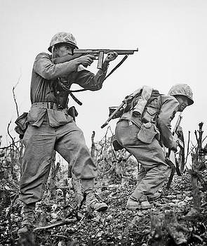 Daniel Hagerman - UNITED STATES MARINES FIGHTING on OKINAWA