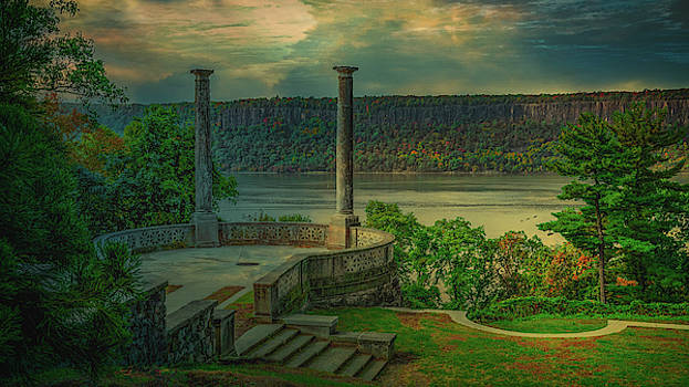 Untermyer Garden Landscape by Chris Lord