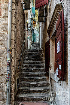 Up The Stairs by Mitch Shindelbower