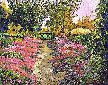 Up To The Garden Gate by David Lloyd Glover