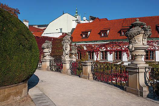 Jenny Rainbow - Upper Terrace of Vrtba Garden 2