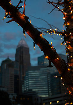 Uptown Holiday Lights by Christine Buckley