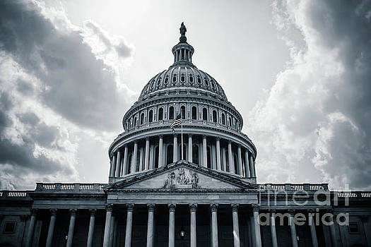 US Capitol Building Congress by Edward Fielding