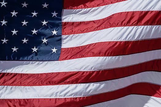 US Flag Wave by Steve Gadomski