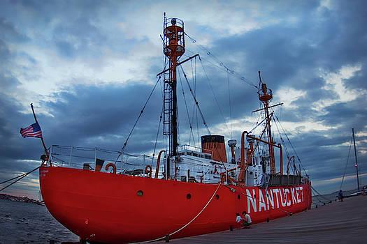 US Lightship Nantucket by Joann Vitali