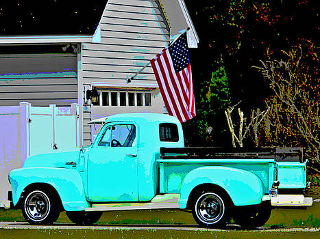 USA in a Chevrolet by Laura Ragland