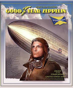 James Vaughan - USS Akron -1931 - Navy Zeppelin - Goodyear