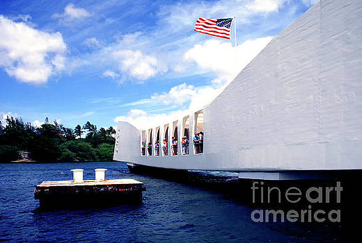 USS Arizona Memorial by Thomas R Fletcher