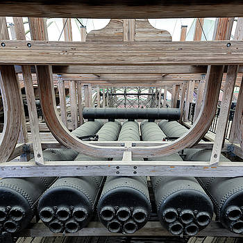 USS Cairo Boilers by Susan Rissi Tregoning