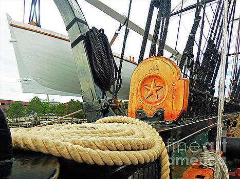 Sharon Williams Eng - USS Constitution Lifeboat