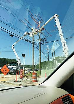Utility Work Ahead by Douglas Fromm
